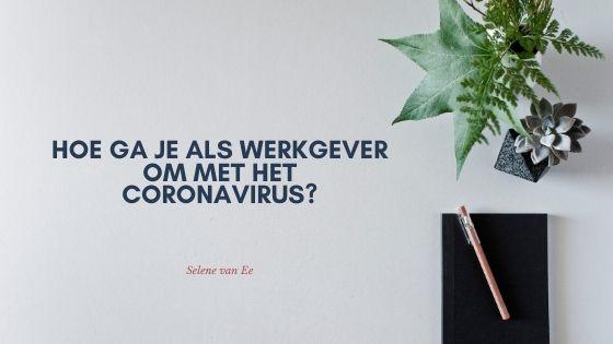 Thuisblijven door Coronavirus