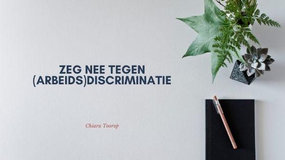 Discriminatie op de werkvloer