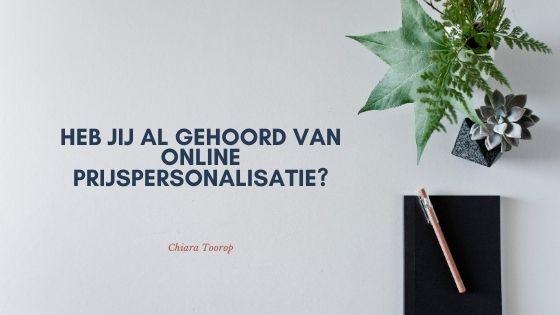 Heb jij al gehoord van online prijspersonalisatie